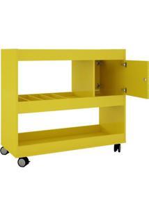 Aparador Bar- Amarelo- 80,5X90X37,2Cm- Becharabechara