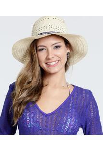 Chapéu Feminino Recorte Étnica Marisa