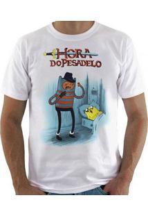 Camiseta Hora Do Pesadelo