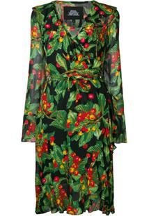 Marc Jacobs Vestido Envelope Estampado - Verde