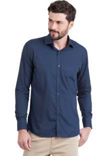Camisa Di Sotti Lisa Aço - Masculino