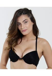 Sutiã Feminino Push Up Laço Marisa