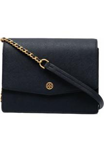 Tory Burch Robinson Convertible Shoulder Bag - Preto