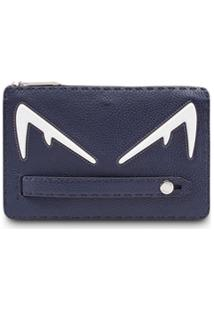 Fendi Clutch Bag Bugs - Azul
