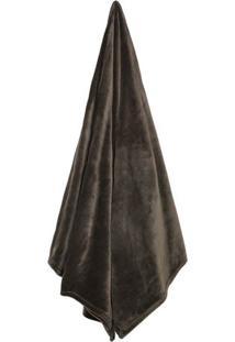 Cobertor Velour Neo Em Microfibra Queen Size- Marromcamesa