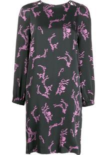 Escada Sport All-Over Print Dress - Preto