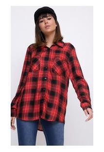 16ca3018d Camiseta Com Bolso Xadrez feminina