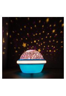 Luminária Projetora Cósmica Azul