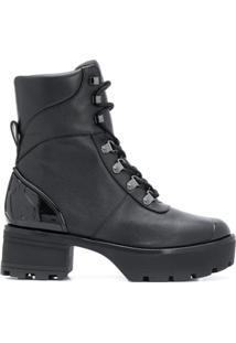 Michael Michael Kors Chunky Ankle Boots - Preto