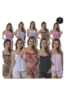 Baby Doll Thaís Kit Com 10 Liganete