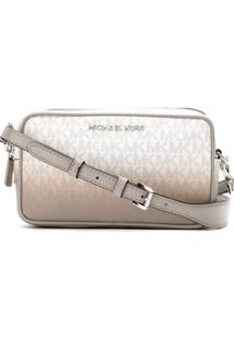 Michael Michael Kors Bolsa Tiracolo Connie Degradê - Branco