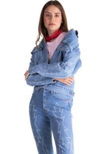 Jaqueta Jeans Levis Trucker Ex Boyfriend - Xs