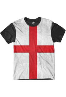 Camiseta Bsc Bandeira Inglaterra Sublimada - Masculino