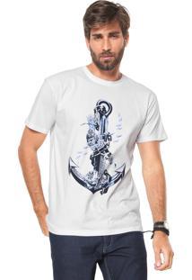 Camiseta Ancora Reserva Donut Branca