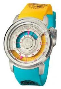 Relógio Yankee Street Feminino - Unissex-Amarelo+Azul