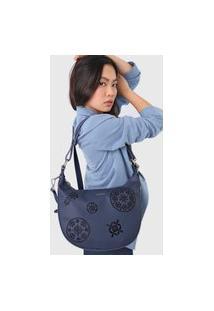 Bolsa Desigual Shoulder Bag Inês Azul-Marinho