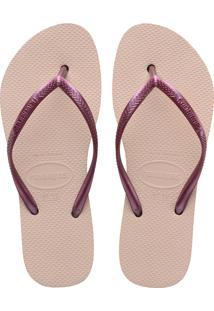 Sandálias Havaianas Slim Flatform Rosa