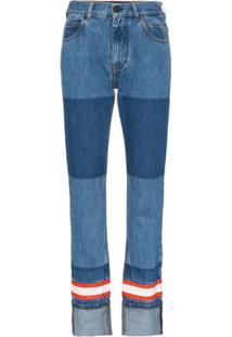 Calvin Klein 205W39Nyc Calça Jeans Reta - Azul