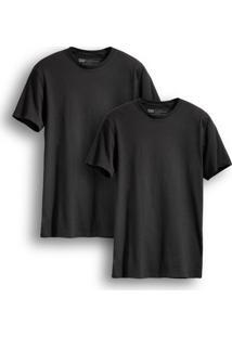 Camiseta 2 Pack Crew Levis 2 Peças - Masculino