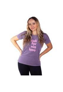Camiseta Birdz Estampada Roxa