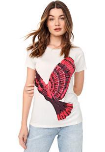 Camiseta Carmim Cacatua Off-White