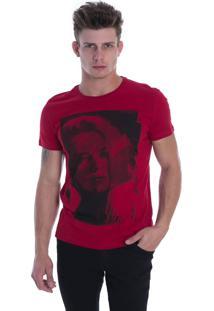 T-Shirt Osmoze Ethos 005 12657 4 Vermelho - Vermelho - Feminino - Dafiti
