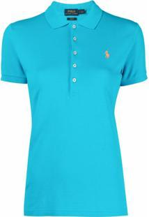 Polo Ralph Lauren Blusa Polo Com Logo Bordado - Azul