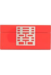 Shanghai Tang Porta-Joias Double Happiness - Vermelho