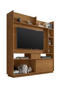 Estante Home Divisor De Ambientes Para Tv Até 50 Pol. Versus Freijó -
