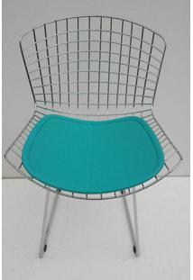 Cadeira Bertoia Assento Courissimo Azul - 21903 Sun House