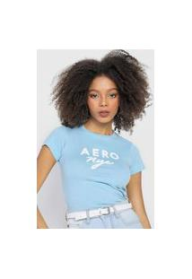 Camiseta Aeropostale Nyc Azul