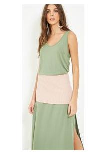 Vestido Pala Retilinea #Joie Verde Militar