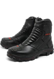 Bota Bell-Boots Adventure 3000 - Preto/Vermelho