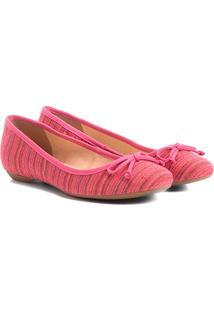 Sapatilha Shoestock Estampada Feminina - Feminino-Pink