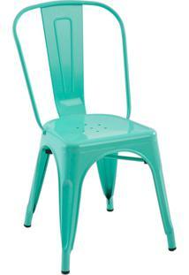 Cadeira Sem Braço Iron-Rivatti - Verde