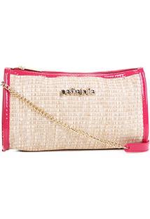Bolsa Petite Jolie Mini Bag Jane Palha Feminina - Feminino-Rosa