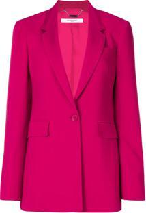 Givenchy Blazer Slim Clássico - Rosa