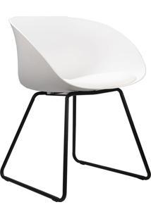 Cadeira Denise Branca Rivatti Móveis