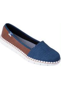 Sapatilha Moleca Jeans Com Solado Flexível