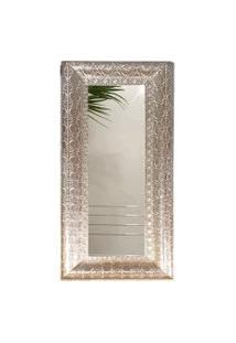 Espelho De Metal 147X62,5X6 Cm