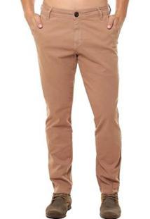 Calça Jeans Osmoze Casual Masculina - Masculino-Marrom