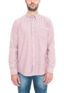 Camisa Manga Longa Pleasant River Oxford