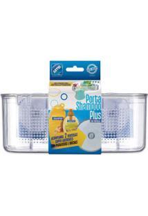 Porta Shampoo Plus Com Ventosas Arthi