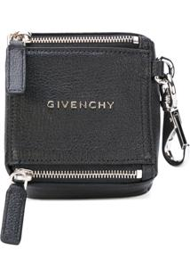 Givenchy Porta-Moedas De Couro 'Pandora' - Preto