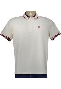 Camisa Masc Cavalera Clothing 03.01.3824 Bege Claro