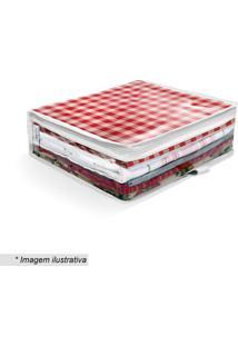 Organizador De Toalha De Mesa- Incolor & Branco- 10Xboxmania
