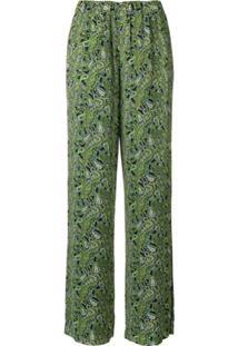 Michael Michael Kors Calça Estampada - Verde