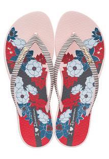 Chinelo Feminino Ipanema Wave Floral 26104