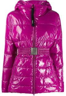 Pinko Padded Jacket - Roxo