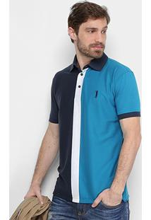 Camisa Polo Aleatory Malha Masculina - Masculino